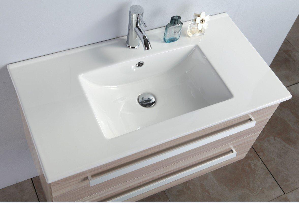 Mobile bagno, arredo bagno NUOVO + lavandino + specchio + ...