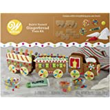 Wilton 2104-6862 Build Decorating Kit Gingerbread, Train, Assorted