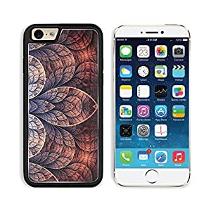 Fractal Art Patterns Lines Petals Apple iPhone 6 TPU Snap Cover Premium Aluminium Design Back Plate Case Customized Made to Order Support Ready Liil iPhone_6 Professional Case Touch Accessories Graphic Covers Designed Model Sleeve HD Template Wallpaper Ph