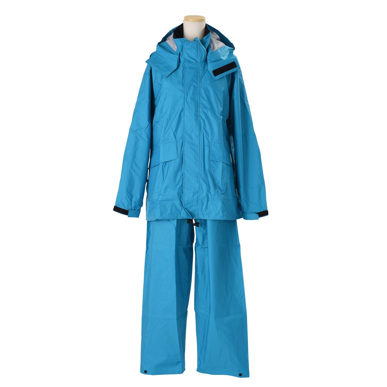 エコブレス 透湿レインスーツ 全4色 全6サイズ 上下スーツ エメラルドグリーン 4L 防水透湿コーティング 2層レイヤー 収納袋付き K600-EGR-4L B01ET2OQIG 4L|エメラルドグリーン エメラルドグリーン 4L