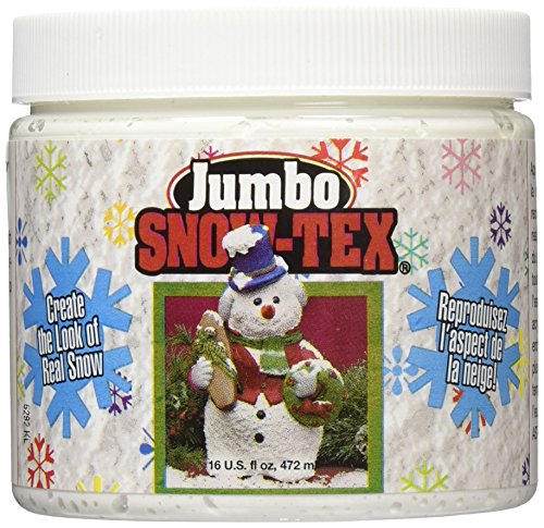 DecoArt DAS9-22 Snow-Tex, 16 -Ounce]()