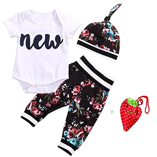 Unique Baby Clothes For Girls Inspiration Amazon Cute Infant Baby Girl Clothing Set Tops Bodysuits Short