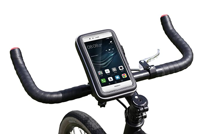 more photos 5f853 64bfb Navitech Cycle/Bike/Bicycle & Motorbike Waterproof Holder Mount & Case  Compatible with The Huawei P9 Lite / P9 Plus / P9