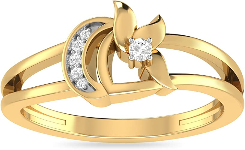 PC Jeweller The Avalee 22KT Yellow Gold Rings Women's Rings