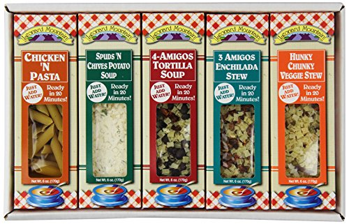 Leonard Mountain Soup Sampler Dry Soup Mix, 5 count (Gift Soup)