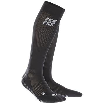 CEP Griptech - Calcetines Running Hombre - Negro Talla del Calzado V / 45-50cm