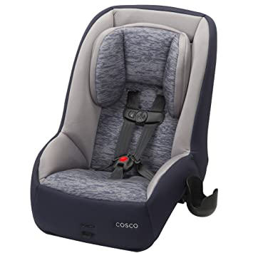 Cosco Mighty Fit 65 DX Convertible Car Seat Heather Navy