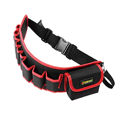 uxcell Professional Oxford Canvas Toolkit Waterproof /& Protective Work Belt Black
