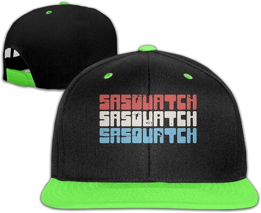 HERSTER Childrens Girls Sasquatch Baseball Caps Trucker Hip-Hop Cap Hats