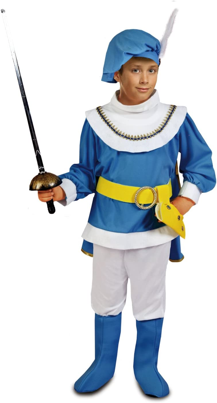 My Other Me - Disfraz de Principito, talla 10-12 años, color azul ...