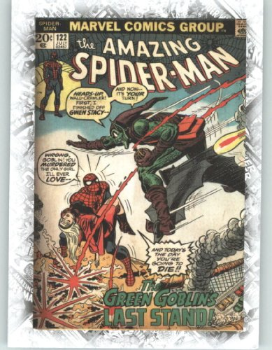 Marvel Beginnings Breakthrough Cover Issues #B7 Amazing Spider-Man #122 (Non-Sport Comic Trading Cards)(Upper Deck - 2011 Series 1) from Marvel