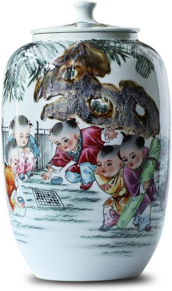 米びつ 20キロのカバー 防湿シール ライスバケツ 穀物貯蔵容器 家庭ライスバケツ (Color : 白, Size : 50*27cm)