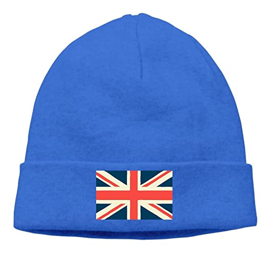 Amazon.com  TO-JP British Flag Beanies Knitted Caps Trendy Warm ... 7a84e224841