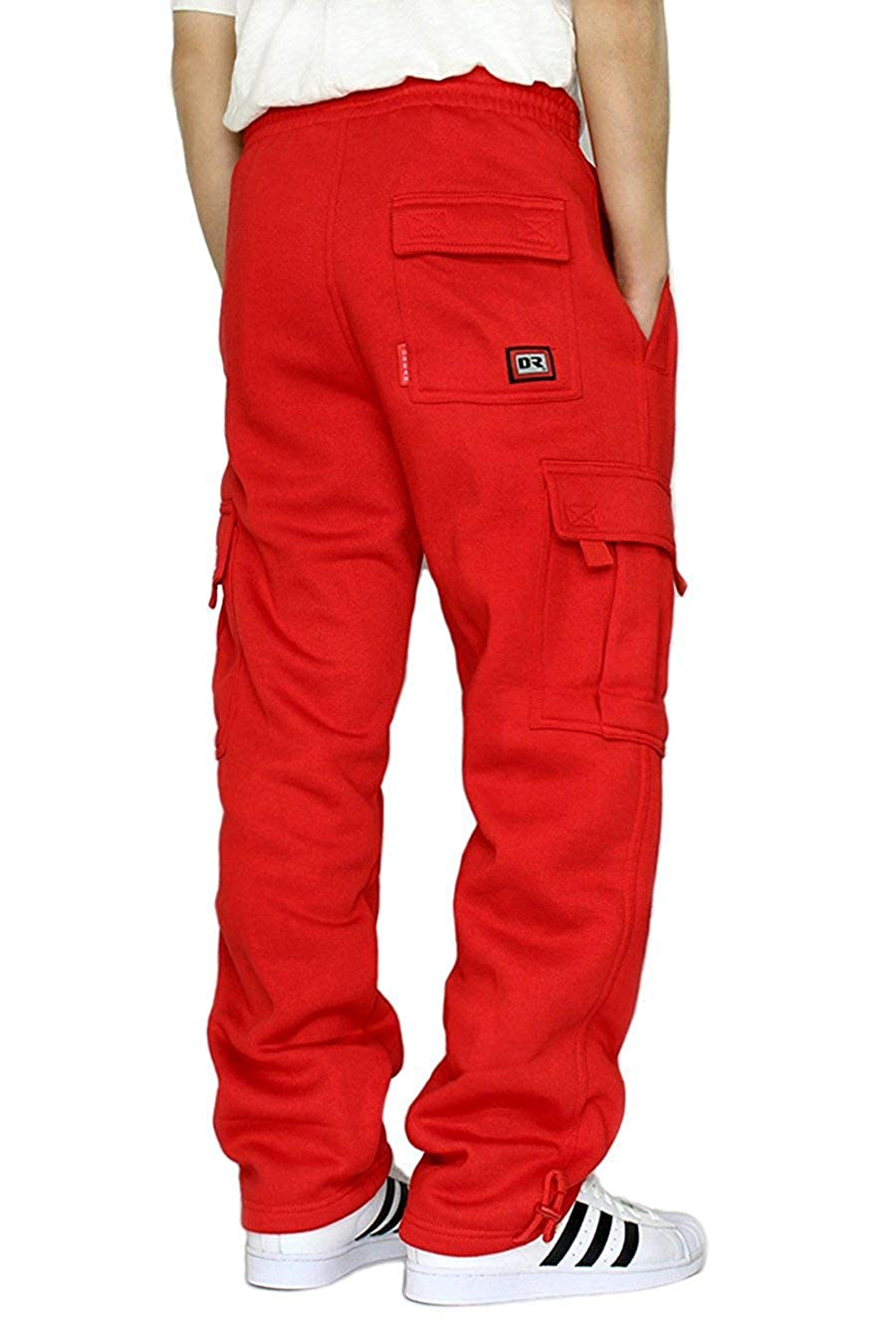 LA Gen Men's Heavyweight Fleece Cargo Sweatpants, M-5XL at Amazon Men's  Clothing store: