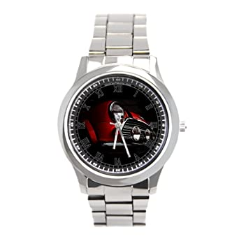Dr. Koo Mini Cooper Simple reloj de pulsera, reloj de acero inoxidable Mini Rally comprar en línea: Amazon.es: Relojes