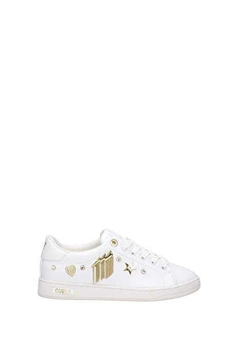 Guess FLCIT4ELE12 Sneakers Donna Bianco 38: Amazon.it