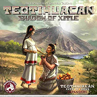 Teotihuacan: Shadows of Xitle: Toys & Games