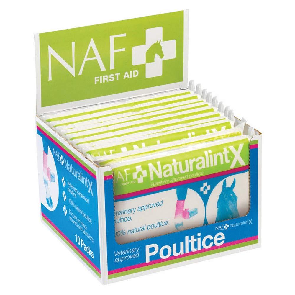 NAF NaturalintX Poultice (10 Packs) (May Vary) by NAF (Image #1)
