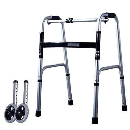 ZHAS Andador Anciano, Andador Andador Plegable De Aluminio ...
