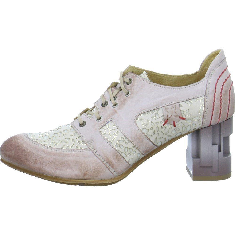 Maciejka Zapatos de Cordones de Piel Para Mujer 39 EU Rosa