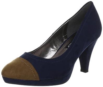 Victoria Delef 12I0827 12I0827 - Zapatos clásicos para mujer, color azul, talla 36