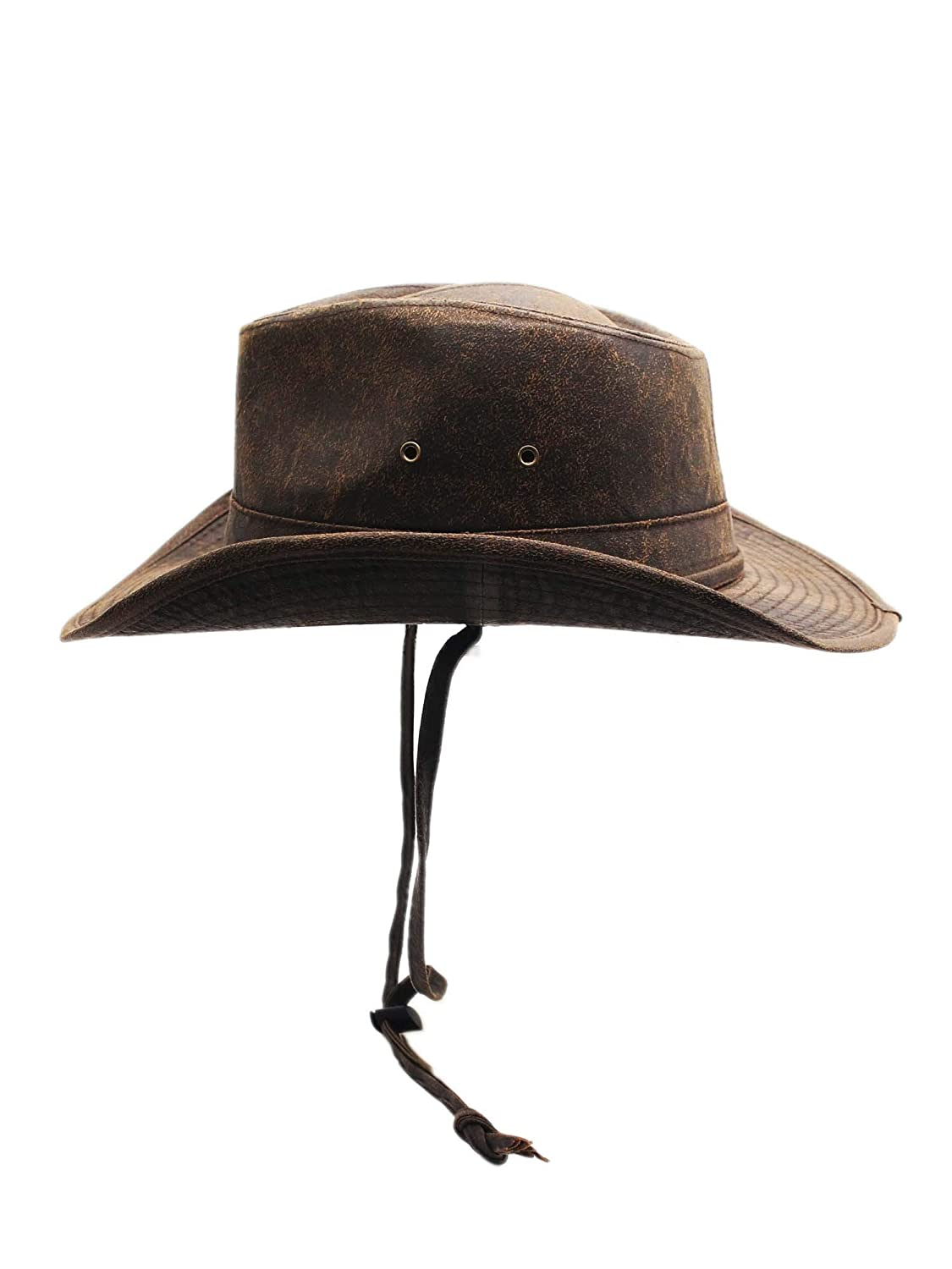 Silver Canyon Boot and Clothing Company Esposto alle intemperie Outback Outdoor Cappello modellabile per Uomo
