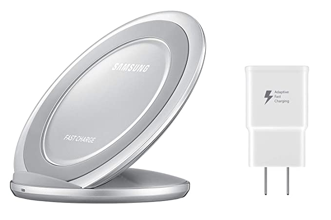 316b582c661b21 Samsung Fast Charge Wireless Charging Stand W/ AFC Wall Charger (US ...