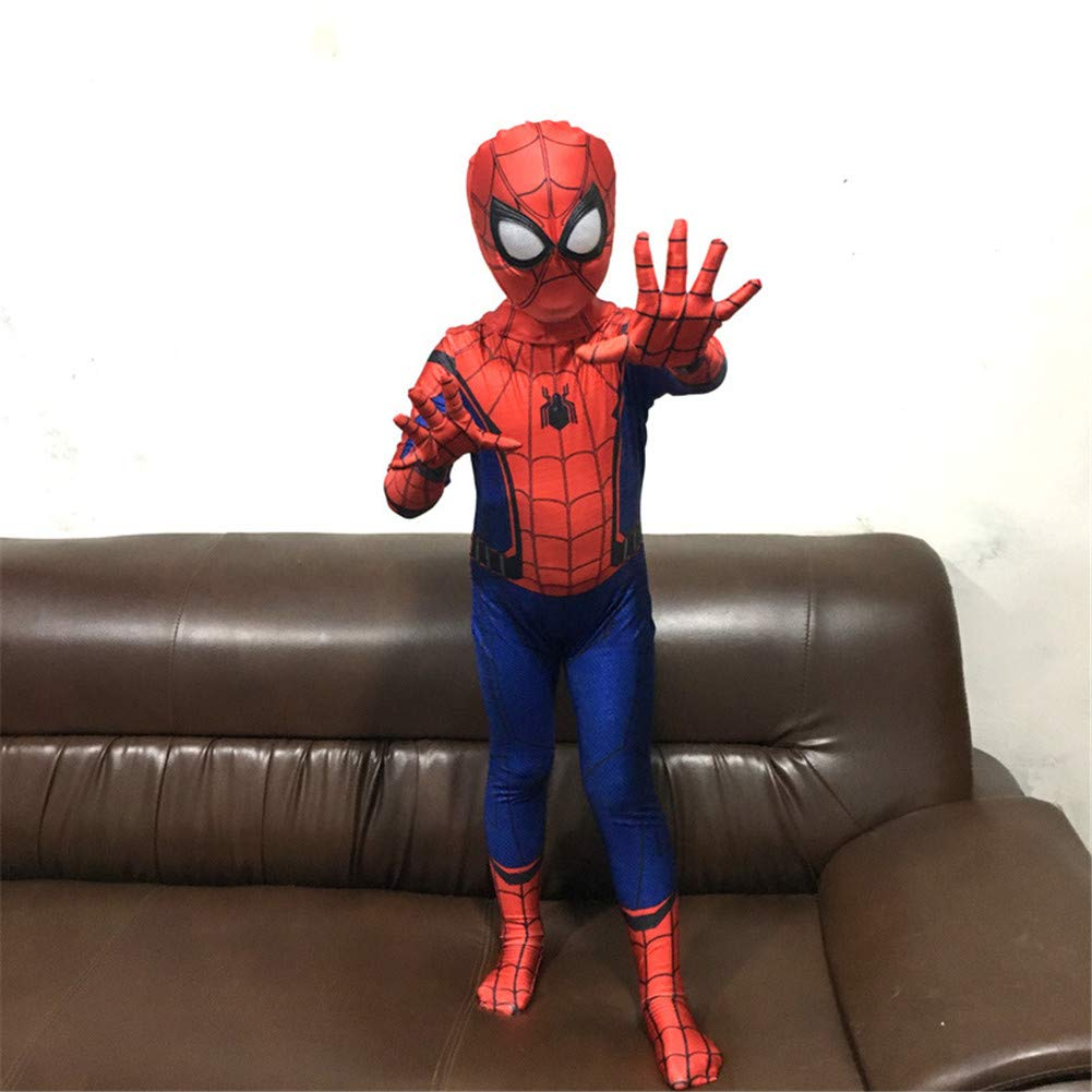KAKAFASHION Maskerade Halloween Jungen Cosplay Spider-Man Heroes Return Return Return Tights Battlesuits Anime Performance Kostüme Kinder S-XL/Sboys S-XL You Are a Hero World 6b3a17