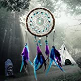 New Fashion Wind Chimes Indian Style Feather Pendant Dream Catcher Home Decor Hanging Decoration Nice Gift by Since