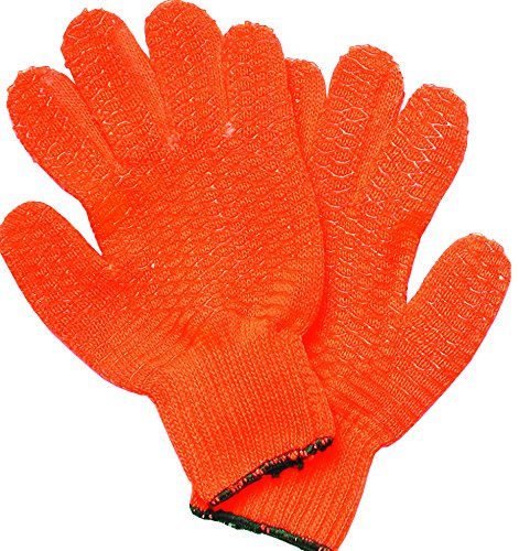 - Innovative Scuba Concepts GL1507 Orange Vinyl Coated Gloves for Spearfishing Florida Lobster