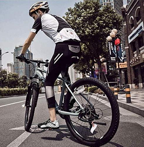 HAOLIN Chaussures De Cyclisme Pour Hommes Femmes Route Sapatilha Ciclismo Autobloquant Respirant Route Baskets, Vert, 36