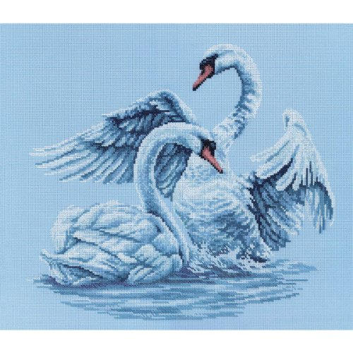 rto-swan-fidelity-counted-cross-stitch-kit-15-3-4-by-13-3-4-inch