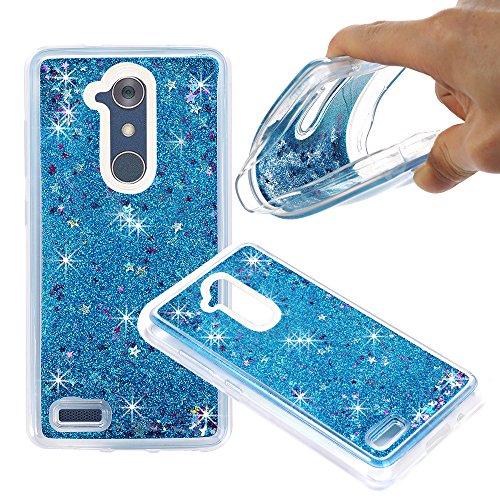 ZTE ZMAX Pro Case, ZTE Carry Z981 Case, NOKEA Soft TPU Flowing Liquid Floating Luxury Bling Glitter Sparkle Case Cover Fashion Design for ZTE ZMAX Pro / Carry Z981 (Maxx Tote)