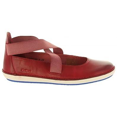Schuhe für Damen 609180-50 Folly 4 Rouge Schuhgröße 36 Kickers QAYKr
