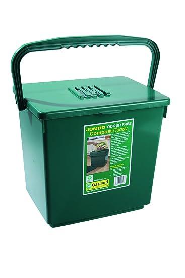 Tierra Garden GP113 Odor Free Compost Caddy, Large