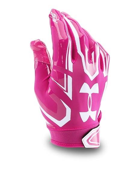 482f8431aaa Amazon.com   Under Armour Boys Pee Wee F5 Football Gloves   Sports ...