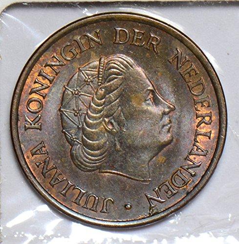 1958 NL JU0421 Netherlands 5 Cents vintage DE PO-01