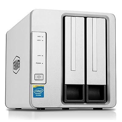 TerraMaster F2-220 2-Bay NAS Drive Intel Dual Core 2.4GHz