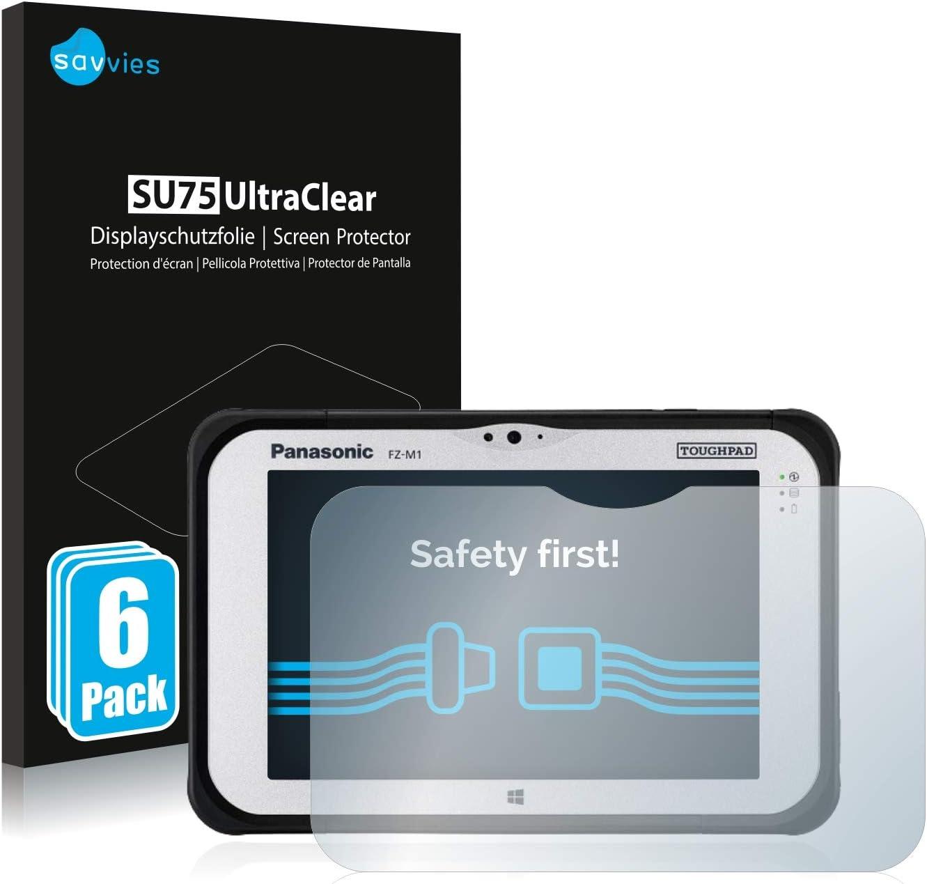 atFoliX Protection d/écran Compatible avec Panasonic ToughPad FZ-A1 Miroir Film Protecteur Effet Miroir FX Miroir Protection d/écran