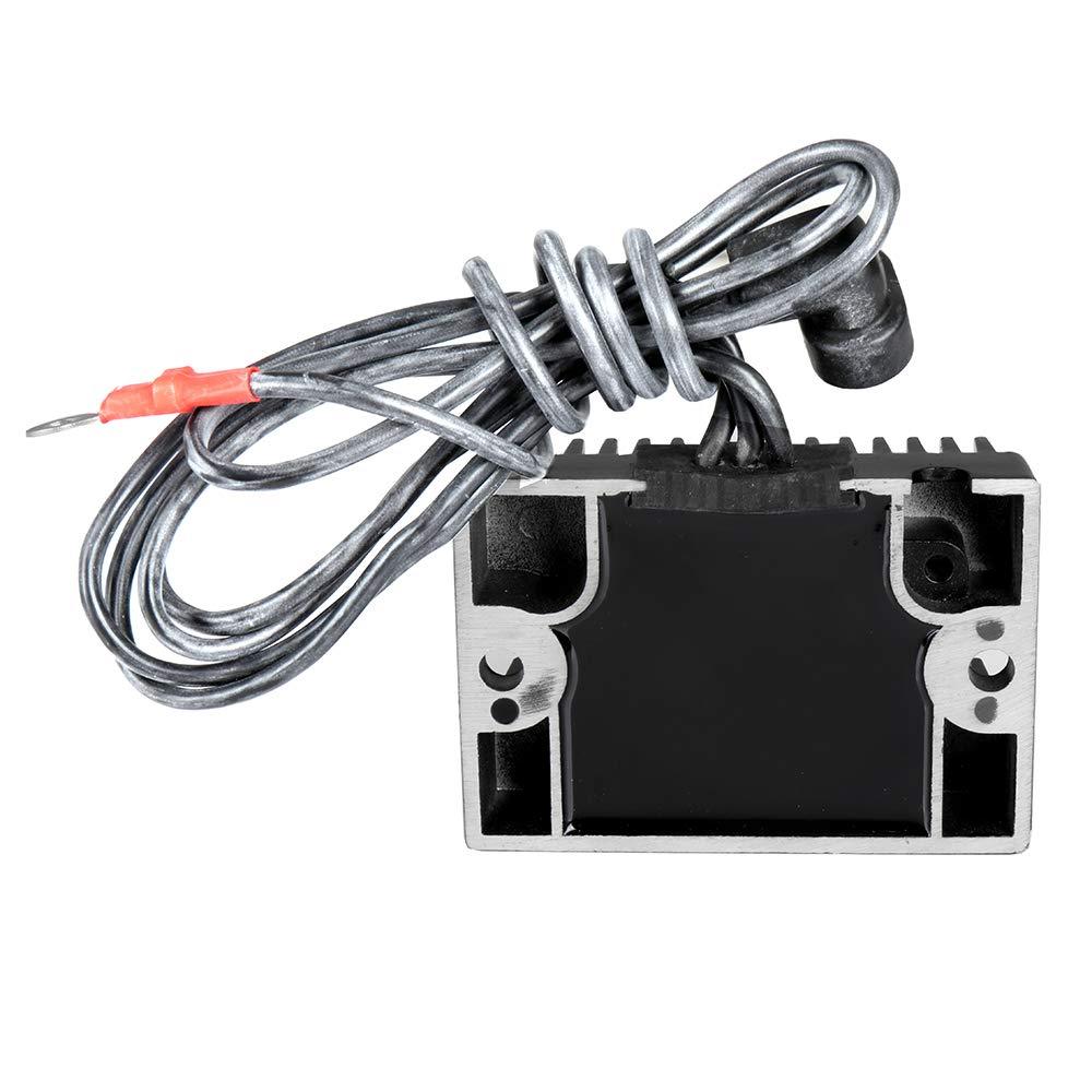 ECCPP Voltage Regulator Rectifier Fit for 2014 Harley-Davidson CVO 1991-1999 Harley-Davidson Dyna 2009-2014 Harley-Davidson Street Glide 74519-88 74519-88A H1988 Rectifier Regulator