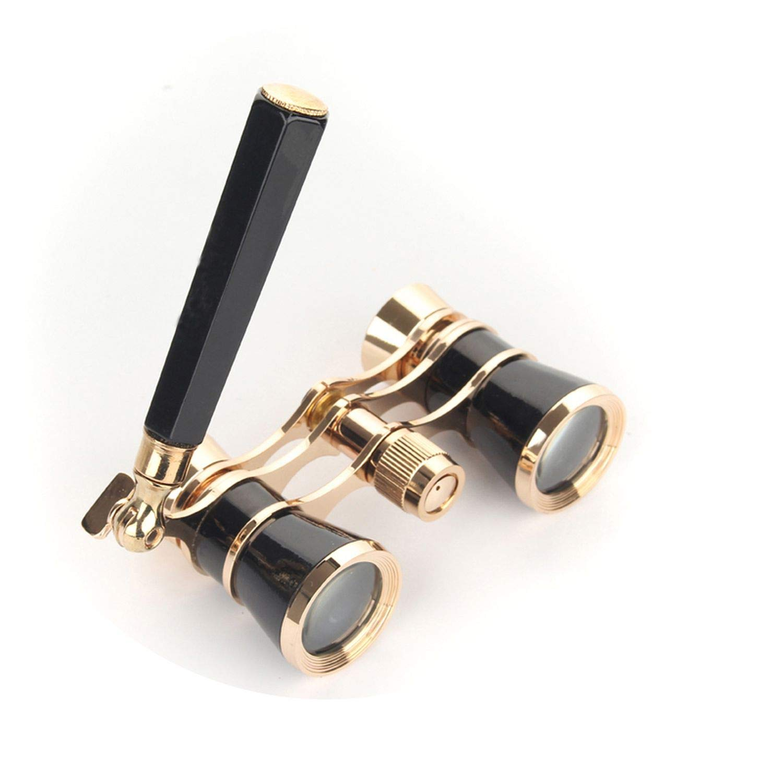 最新入荷 DO007 望遠鏡 精巧なブラックゴールド 双眼鏡 3X25 女性向けギフト 望遠鏡 オペラ劇場用双眼鏡 光学式オペラグラス   B07KBYGFLB, INAZUMA Shop. 58e9cec5