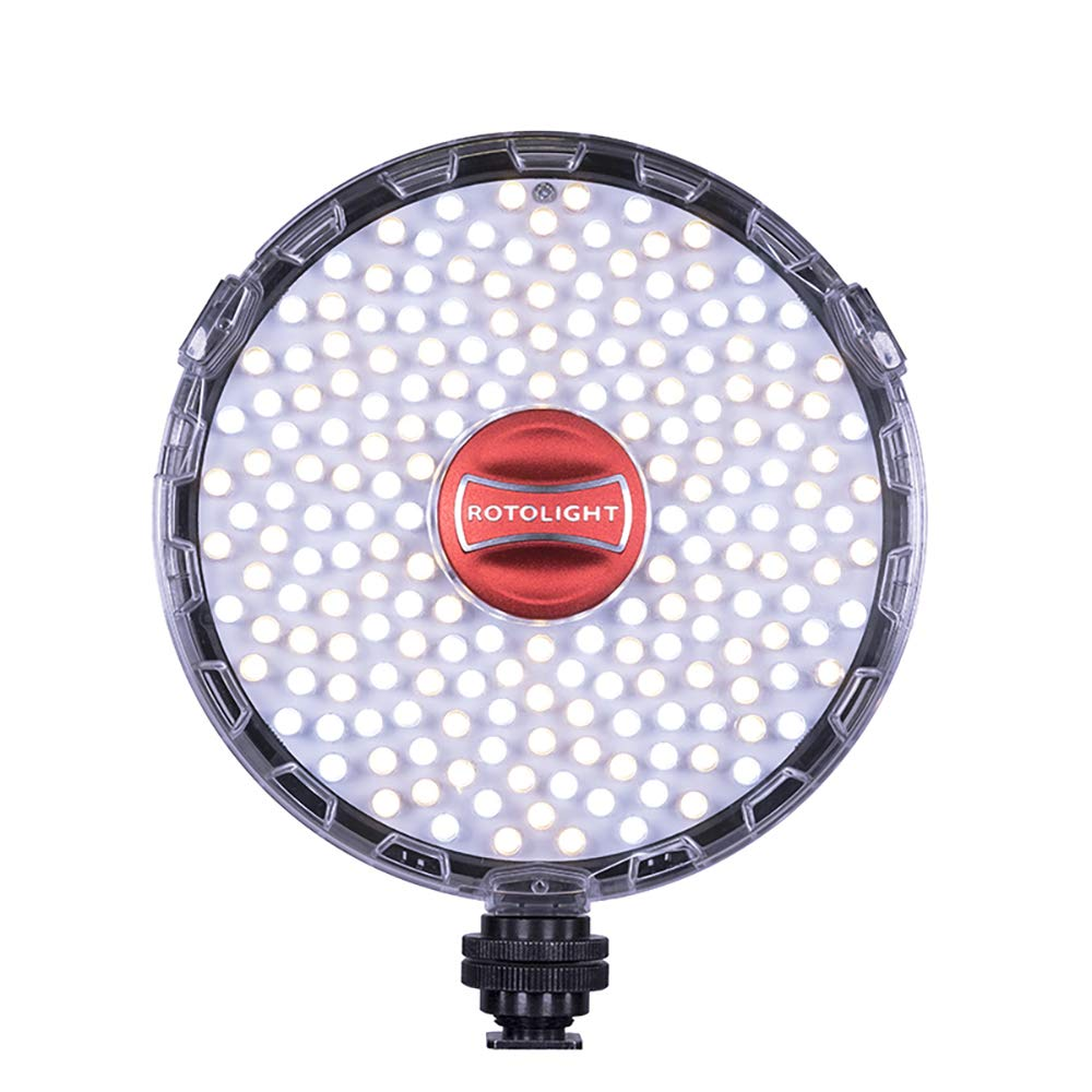 Rotolight NEO 2 Continuous Adjustable Color LED & (HSS) High-Speed Sync LED Flash by Rotolight