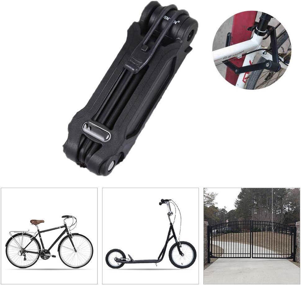 Candados Plegables Candado Bici,Candado Bicicleta Resistente al ...