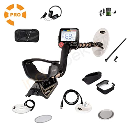 Amazon.com : Makro 1448-GRACERP Gold Racer Pro Package Metal Detector, Black/Gold : Garden & Outdoor