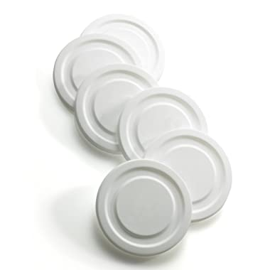 Luminarc Arc International 6 Working Glass Lids, White