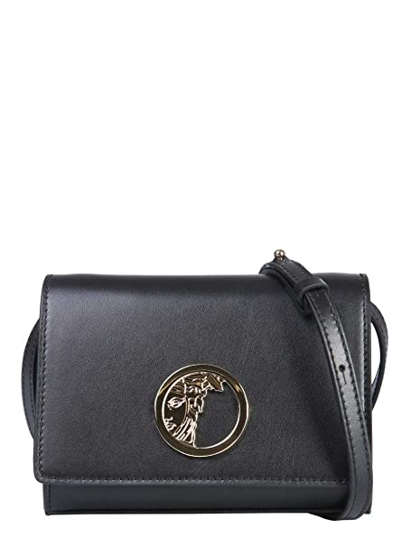 0fdc485fed Versace Collection Men s Shoulder Bag Black Black - Black - Brand Size One  size  Amazon.co.uk  Clothing