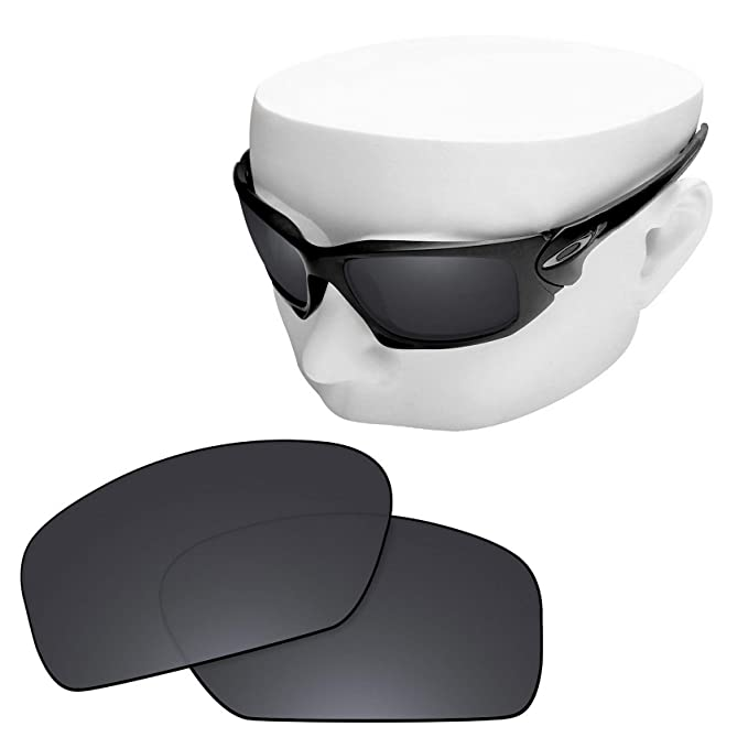 3c30082c843 Image Unavailable. Image not available for. Color  OOWLIT Replacement Lenses  Compatible with Oakley Scalpel Sunglass Black ...