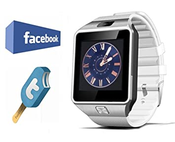VOSMEP Smartwatch Reloj Inteligente Bluetooth 3.0 Tel¨¦Fono Inteligente Pulsera Pantalla C¨¢Mara T¨¢ctil para Android Samsung HTC LG Huawei Xiaomi ...