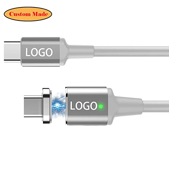 Amazon.com: Znoble Powerline + Cable magnético USB-C a USB-C ...