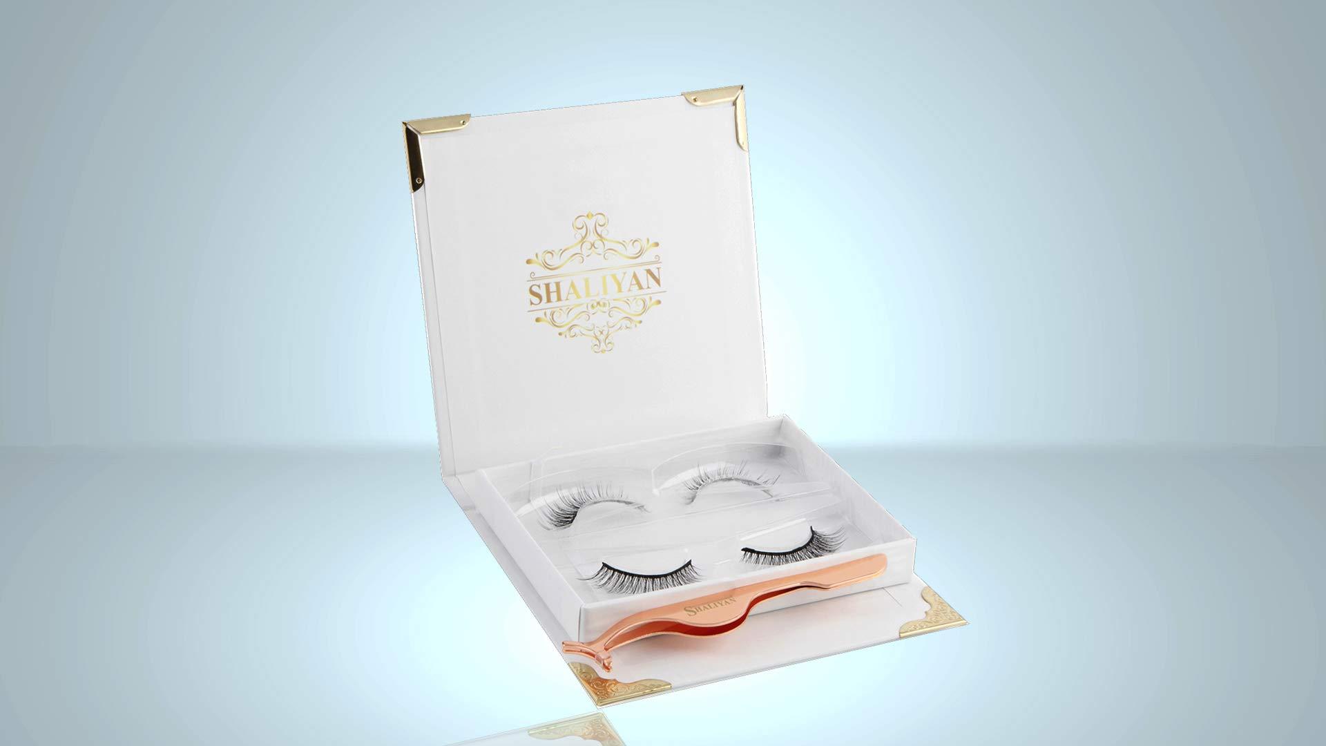 Magnetic Eyelashes 3D Mink false eyelashes For A Bold Full Eye & Natural Look Ultra Thin & Upgraded Fake Eyelashes/No Glue/Reusable / Cruelty Free(Magnetic Eyelashes With Applicator)